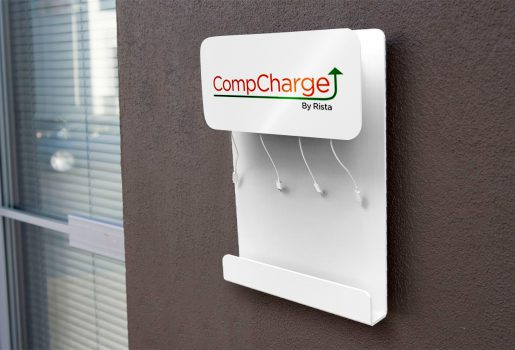 wall charge branding areas
